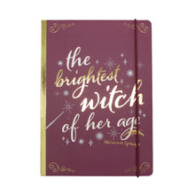 Load image into Gallery viewer, Harry Potter A5 Notebook - Hermione Granger