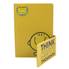 Load image into Gallery viewer, Mr. Men Little Miss A5 Notebook - Mr. Happy