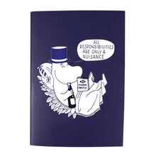 Load image into Gallery viewer, Moomin A6 Notebook - Moomin Papa