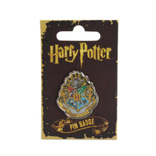 Load image into Gallery viewer, Harry Potter Pin Badge - Hogwarts Crest