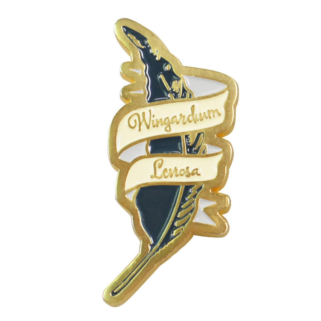Harry Potter Pin Badge - Wingardium Leviosa