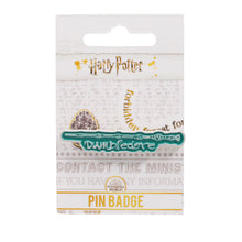 Load image into Gallery viewer, Harry Potter Pin Badge - Dumbledore Wand