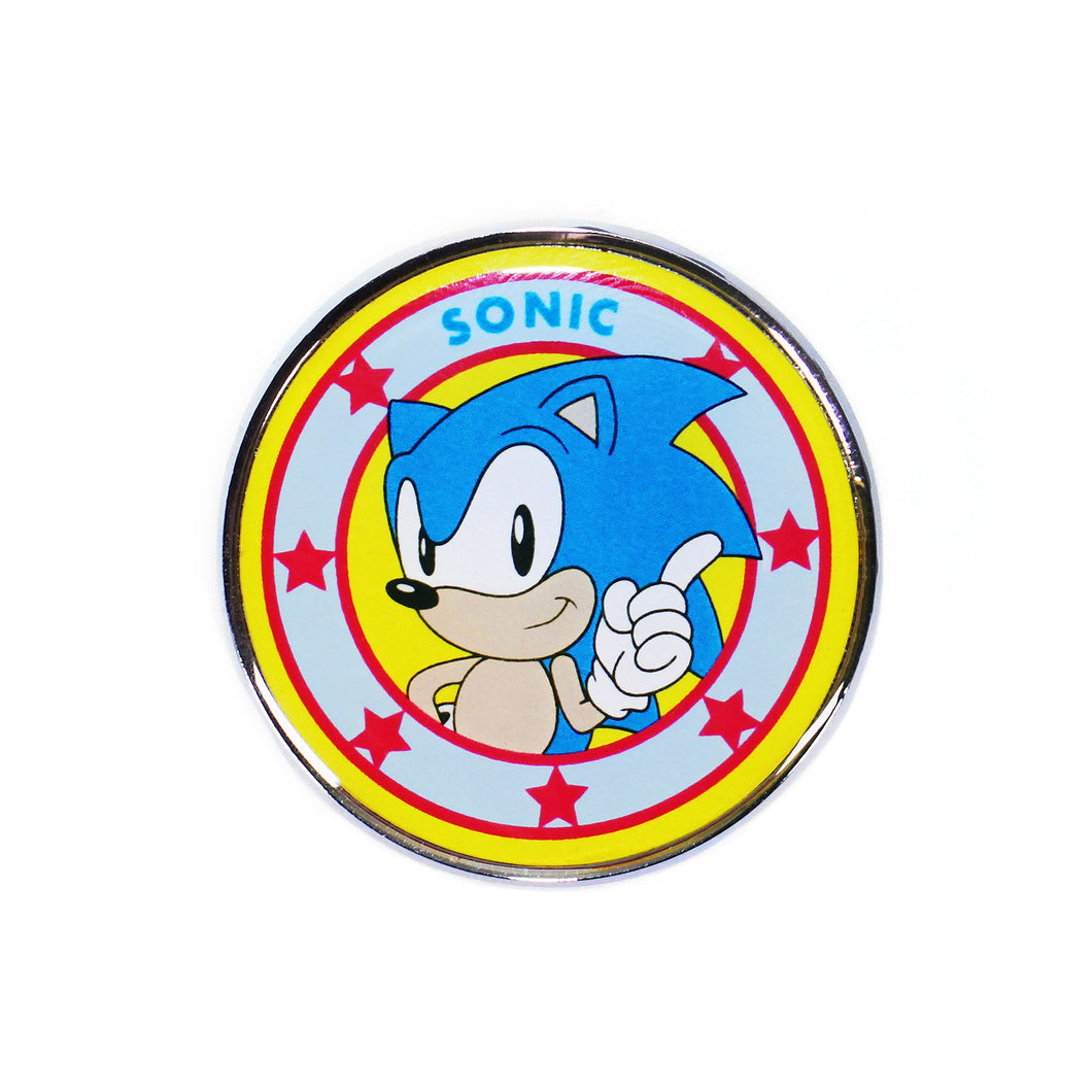 Sonic the Hedgehog Pin Badge - Sonic