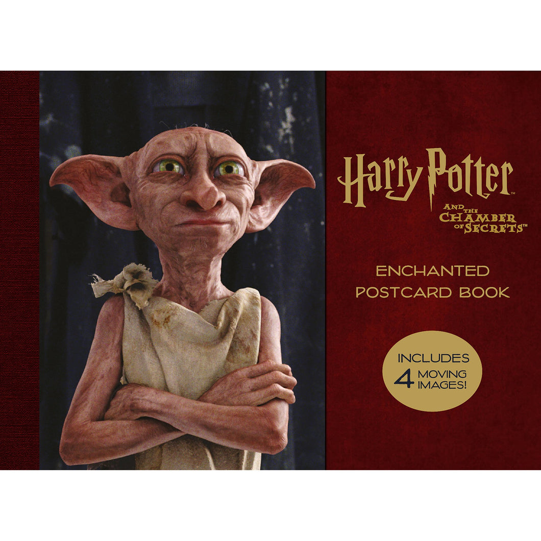 Harry Potter & The Chamber of Secrets: Enchanted Postcard Book