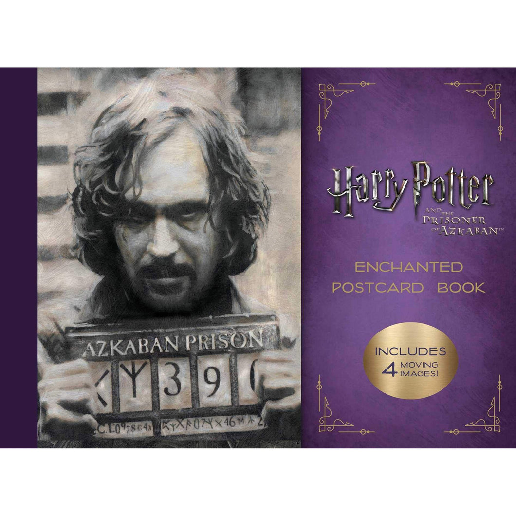 Harry Potter & The Prisoner of Azkaban: Enchanted Postcard Book
