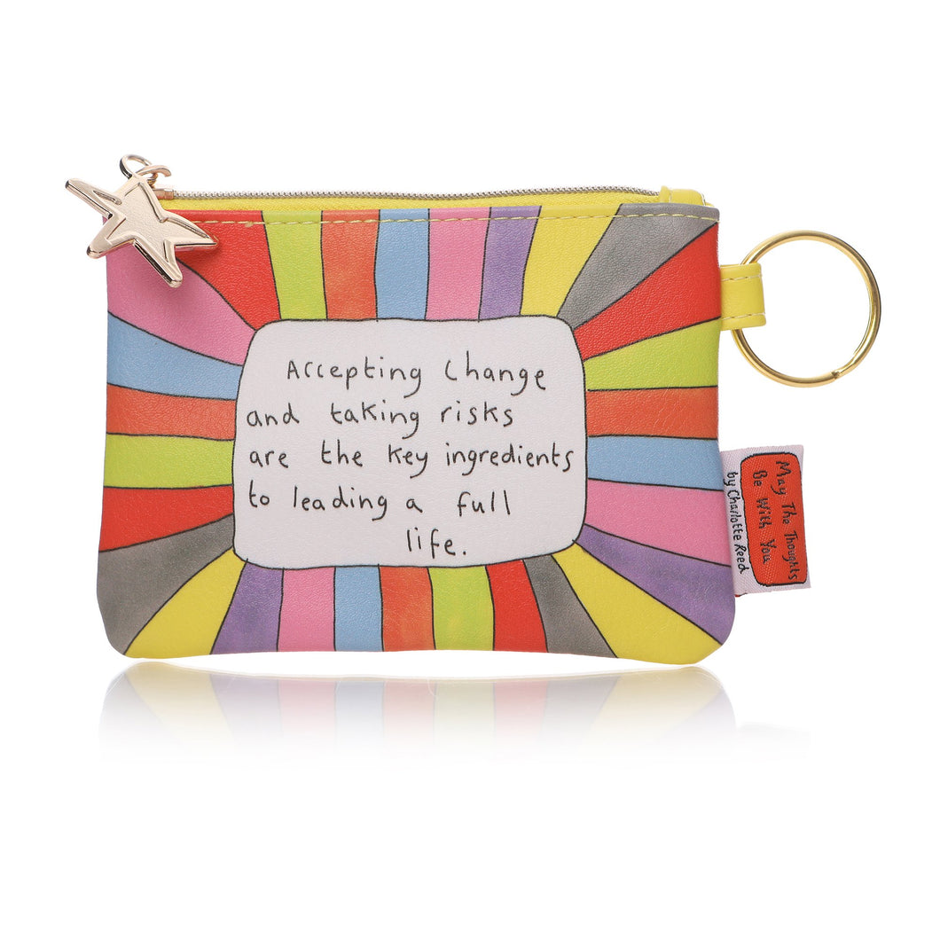 May The Thoughts Be With You Coin Purse - Accept Change