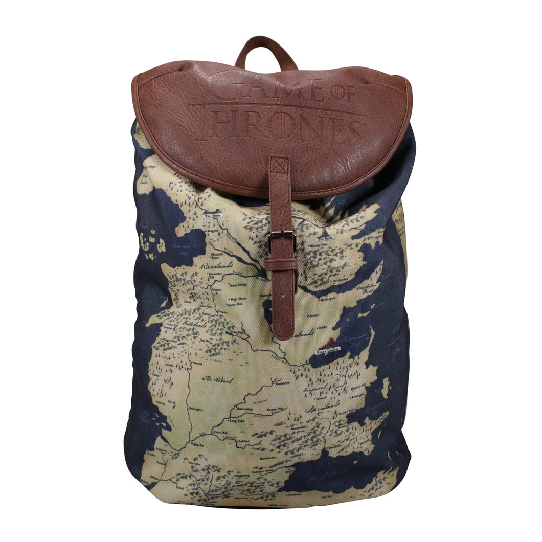 Game of Thrones Rucksack - Westeros Map