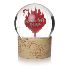 Load image into Gallery viewer, Harry Potter Snow Globe - Marauders Map