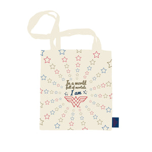 Wonder Woman Shopper Bag - Stars