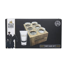 Load image into Gallery viewer, Peaky Blinders Shot Glass  Set - Garrison
