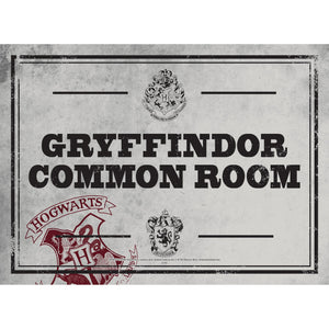 Harry Potter Tin Sign - Common Room