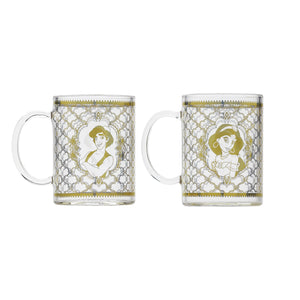 Aladdin Lamp and Glasses (Set of 2)