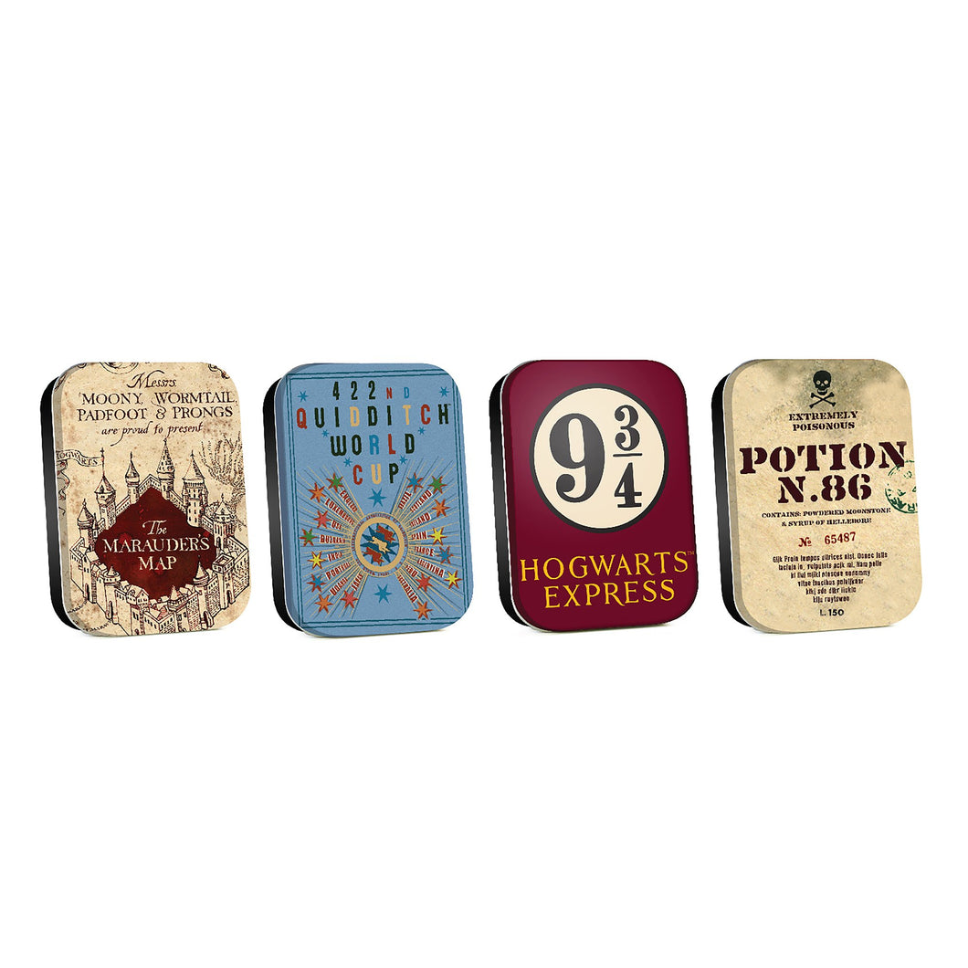 Harry Potter Timeless Tins (Set of 4) - Map