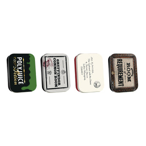 Harry Potter Set of 4 Mini Tins - Diagon Alley