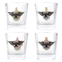 Load image into Gallery viewer, Warhammer 40,000 Set of 2 Glass Tumblers