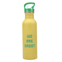 Load image into Gallery viewer, Guardians of the Galaxy Water Bottle - Groot (We Are Groot)