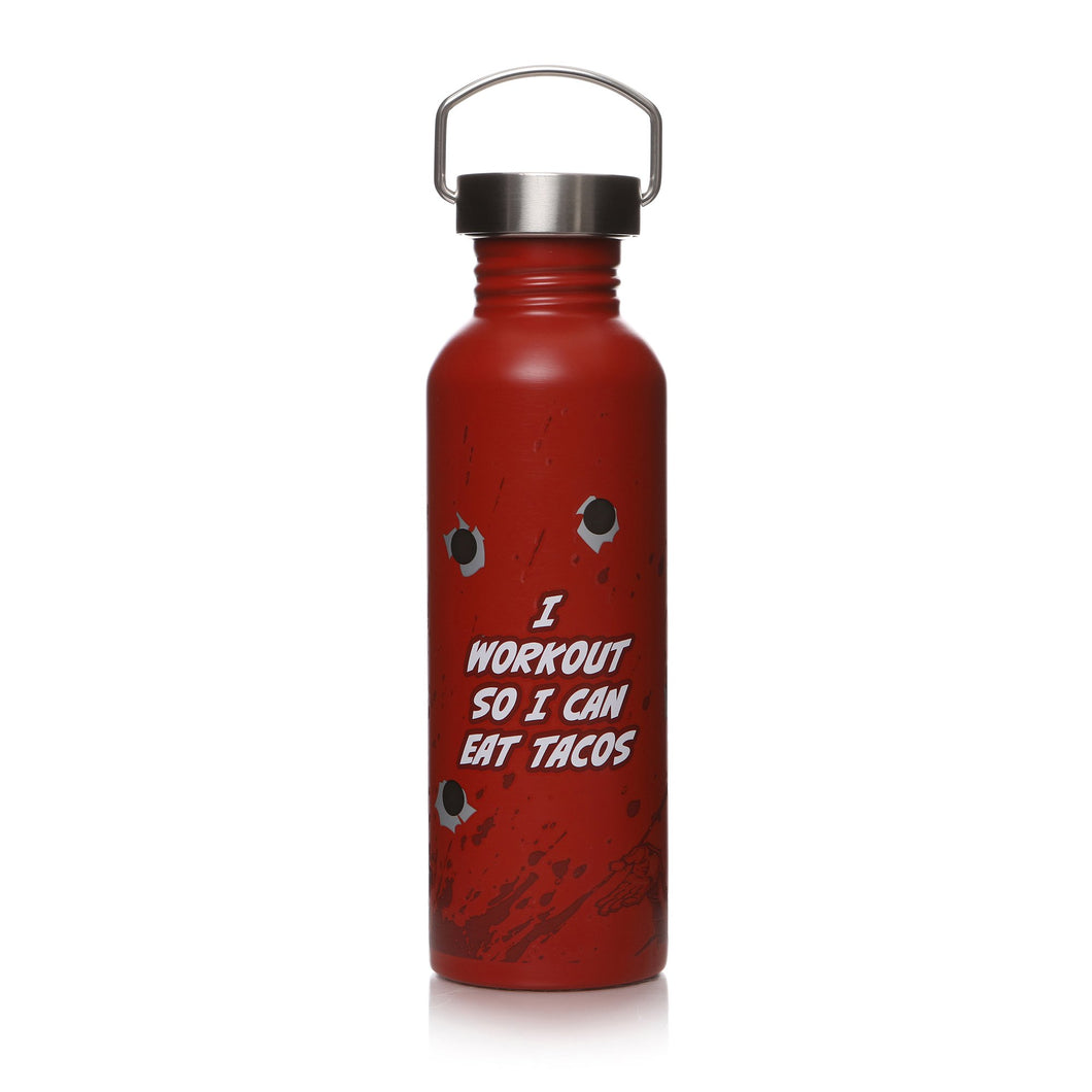 Marvel Deadpool Metal Water Bottle