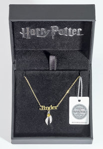 Necklace with Golden Snitch Charm Personalised - Olleke | Disney and Harry Potter Merchandise shop