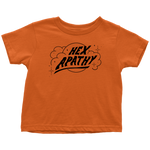 Load image into Gallery viewer, Hex Apathy Toddler - 10 Colors Available (black print)