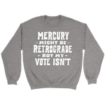 Load image into Gallery viewer, Mercury Retrograde Fleece Sweatshirt - 7 Colors Available (white print)