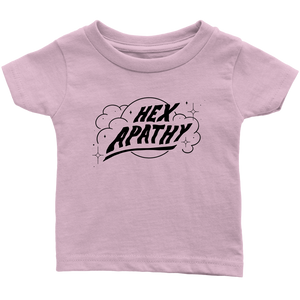 Hex Apathy Infant - 9 Colors Available (black print)