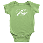 Load image into Gallery viewer, Hex Apathy Infant Bodysuit - 8 Colors Available (white print)