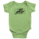Load image into Gallery viewer, Hex Apathy Infant Bodysuit - 5 Colors Available (black print)