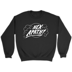 Load image into Gallery viewer, Hex Apathy Fleece Sweatshirt - 7 Colors Available (white print)