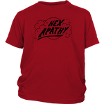 Load image into Gallery viewer, Hex Apathy Youth - 4 Colors Available (black print)