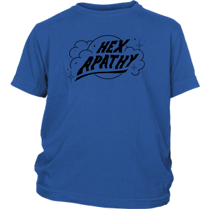 Hex Apathy Youth - 4 Colors Available (black print)