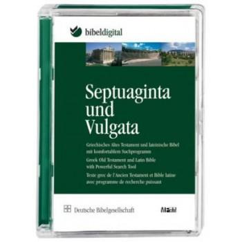 CD ROM -SEPTUAGINTA/VULGATA-