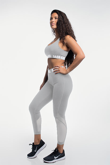 Vented Leggings in Lunar Gray
