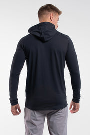Stealth Hoodie in Black - thumbnail image no.3