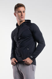 Stealth Hoodie in Black - thumbnail image no.2