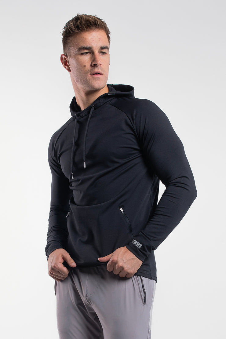 Stealth Hoodie in Black - image no.2