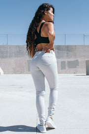 Athletic Chino Pant in Gray