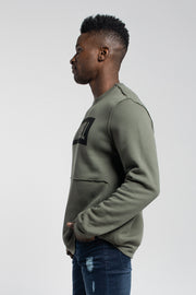Crucial Pullover in Olive