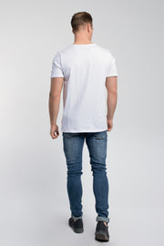 Starter Raw Tee In White
