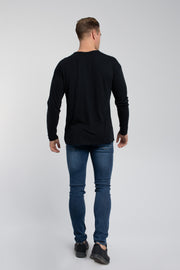 Starter Long Sleeve In Black