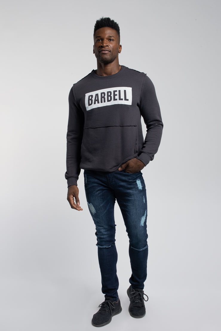 Crucial Pullover in Dark Grey - image no.4