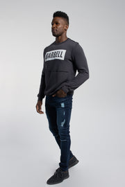 Crucial Pullover in Dark Grey - thumbnail image no.2