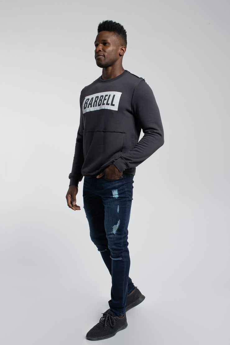 Crucial Pullover in Dark Grey