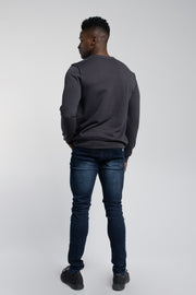 Crucial Pullover in Dark Grey - thumbnail image no.3