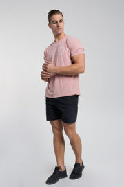 Full Circle Tee In Pink - thumbnail image no.2