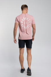 Full Circle Tee In Pink - thumbnail image no.3