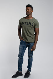 Starter Raw Tee In Olive
