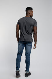 Starter Raw Tee In Gray
