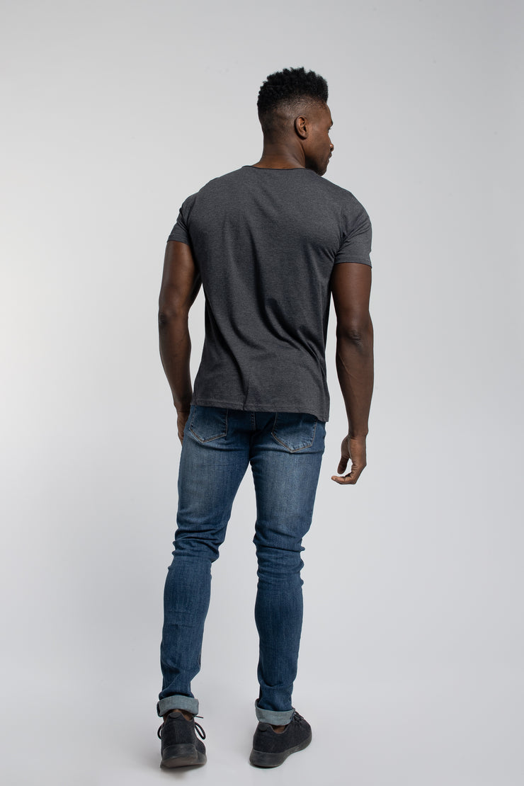 Starter Raw Tee In Gray - image no.3