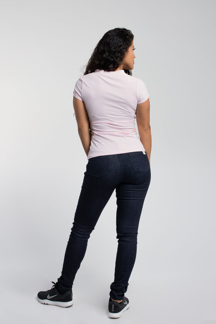 Rise Polo In Blush - image no.3