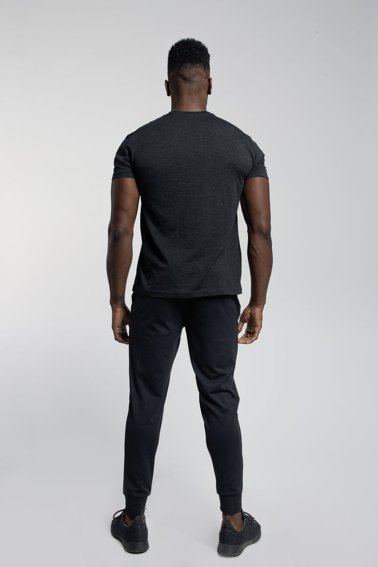 Crucial Short Sleeve in Black